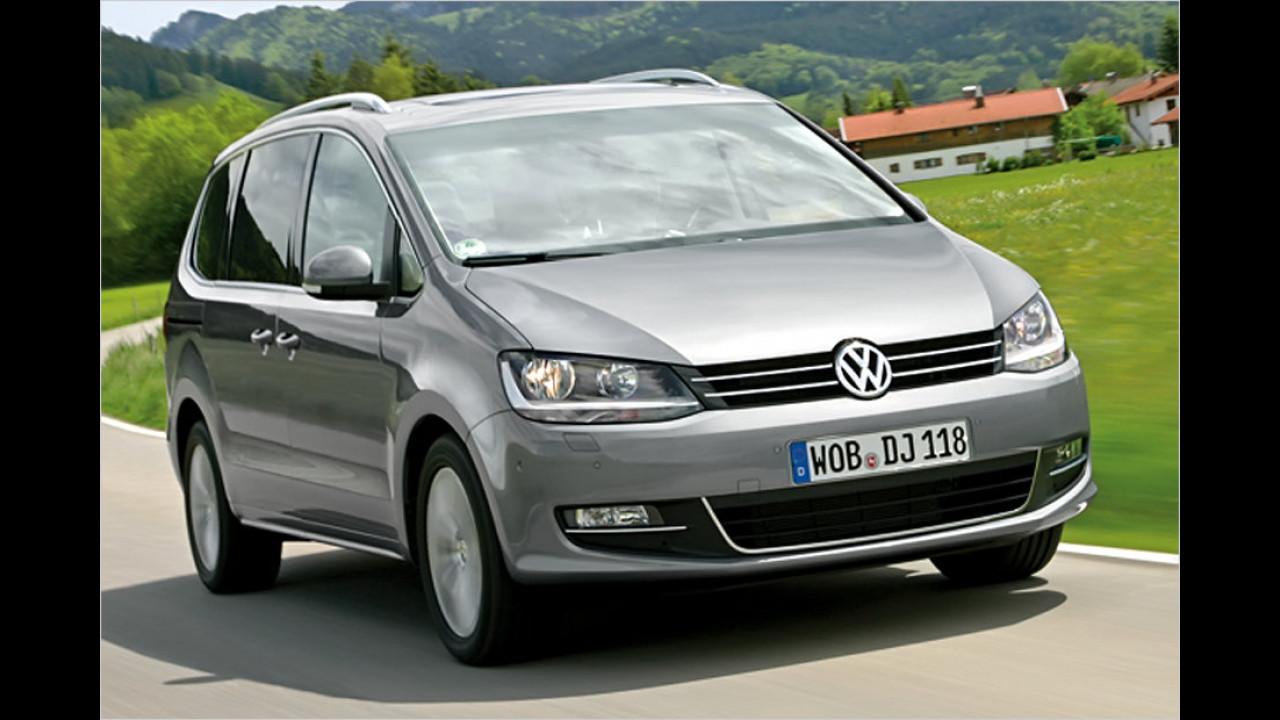 Vans, 100.001 bis 150.000 Kilometer: VW Sharan (2010)