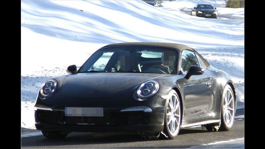 Erwischt: Porsche 911 Targa