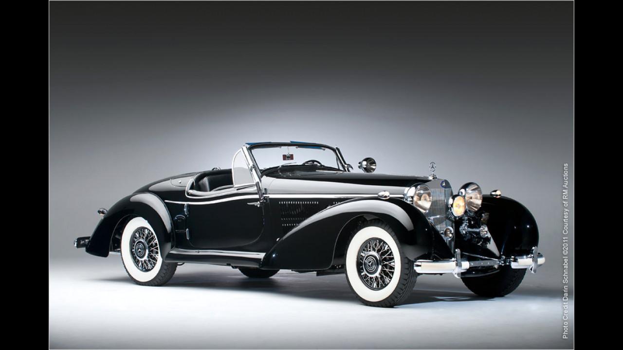 Platz 8 (2011): Mercedes-Benz 540 K Spezial Cabriolet, Baujahr 1939