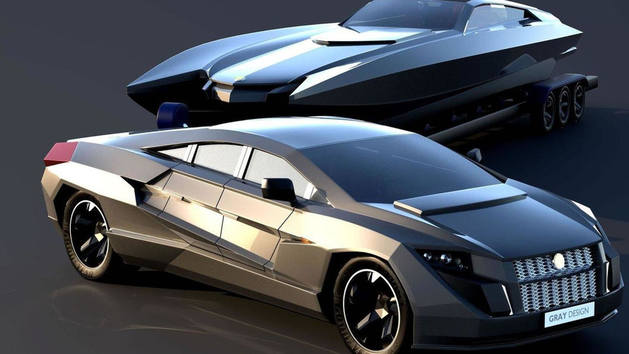 Dartz Prombron Nagel - the worlds first armored sportback - designed for pulling yachts?