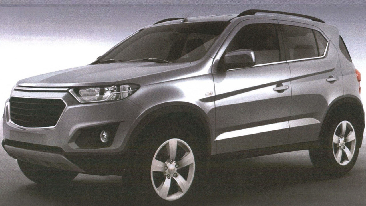 The concept of a new generation of Chevrolet Niva officially presented at the MIAS-2014