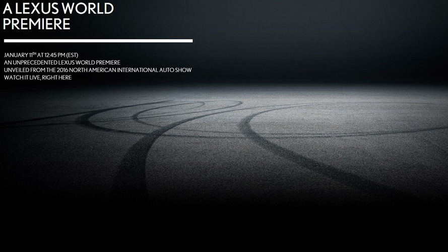 Lexus drops teaser for 'unprecedented' Detroit premiere, likely LC 500