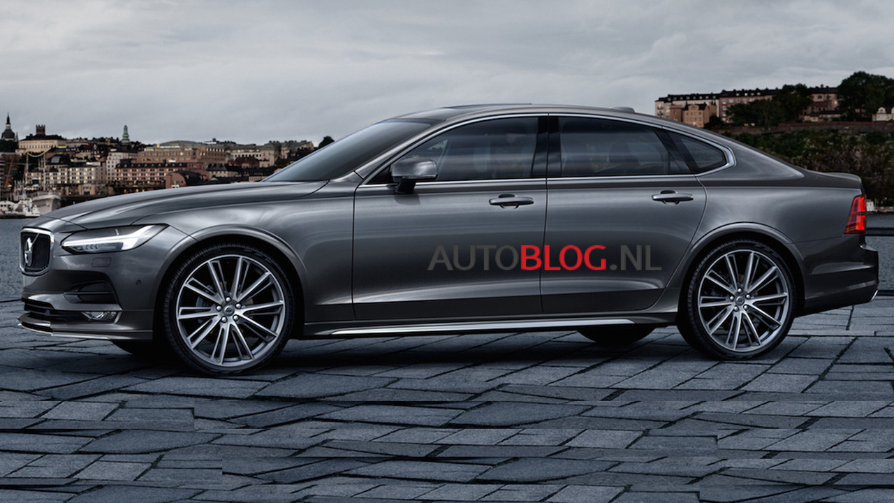 Volvo S90 leaked official photo