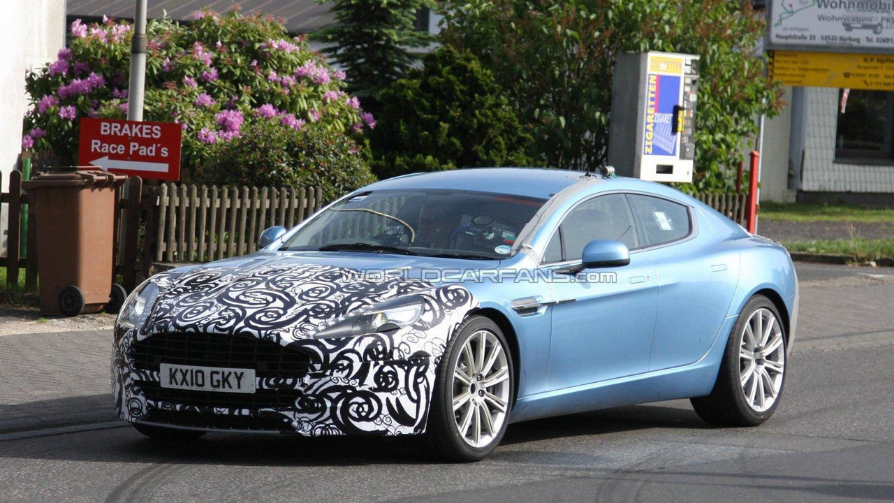 Aston Rapide S Rumored With 510 Hp V12
