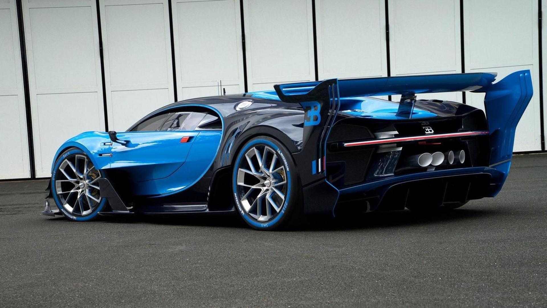 Bugatti gran turismo vision price