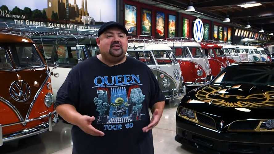Funnyman Gabriel Iglesias Shows Off His Classic VW Collection