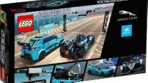 LEGO Speed Champions: Jaguar I-PACE eTROPHY y Racing GEN2 de Formula E
