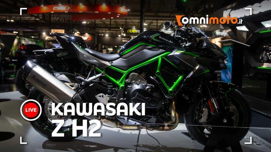 Kawasaki ZH2, la hypernaked mette il turbo