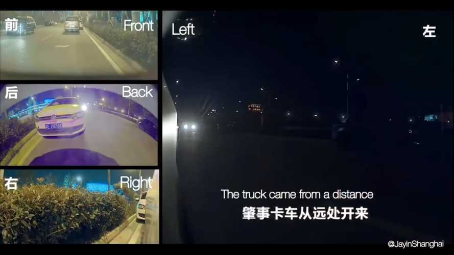Check How Sentry Mode Helped Solve This Hit And Run Case In China