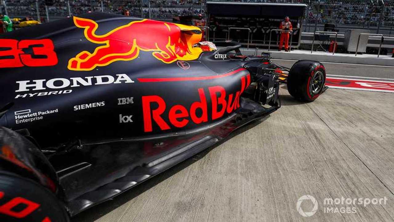 Max Verstappen at Russian GP 2019