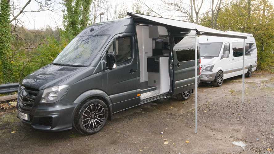 Mercedes Sprinter camper by Hunter Sport Homes