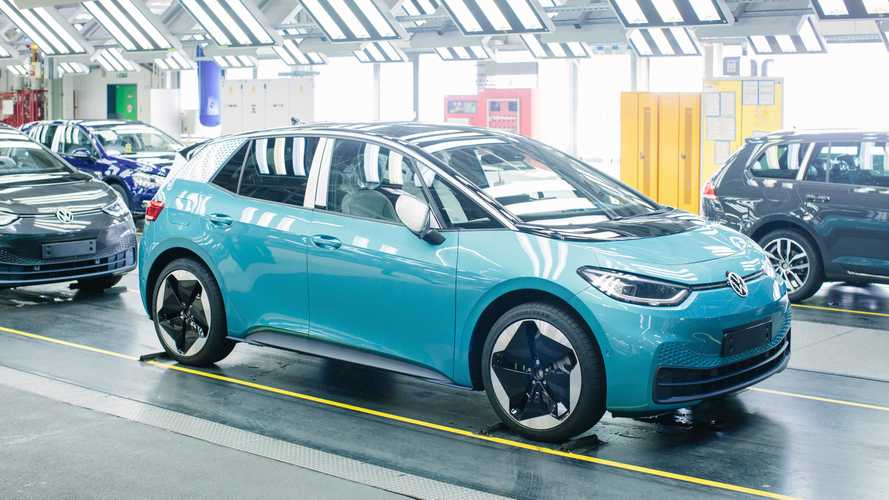 Volkswagen retoma produção do elétrico ID.3 após o Coronavírus