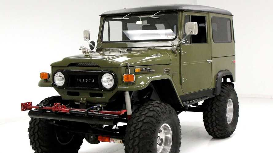 1972 Toyota FJ40 Land Cruiser Restomod Is A Monster