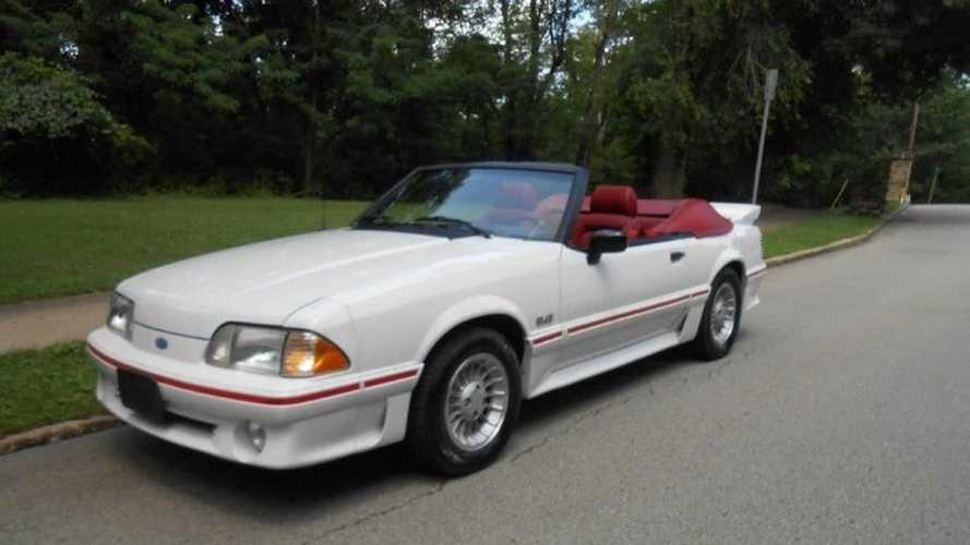 Rollin' In Your 5.0: 1988 Ford Mustang GT Convertible