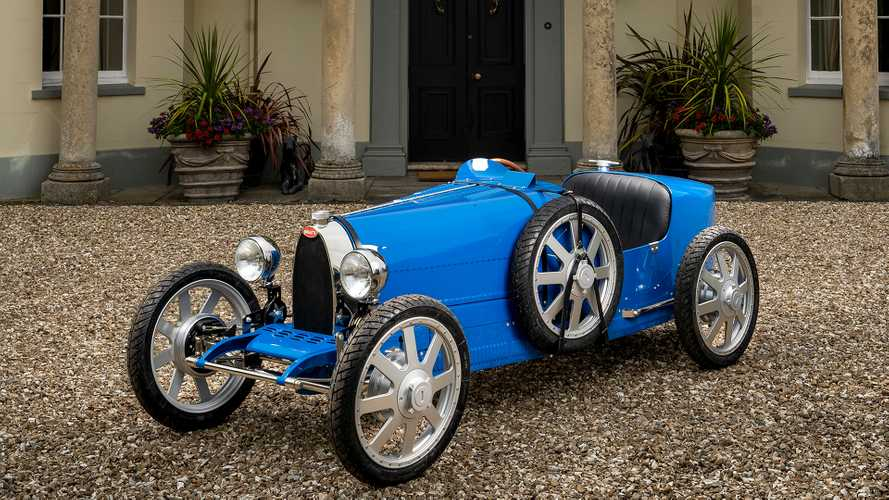 Bugatti Baby II, torna la mitica auto elettrica per bambini
