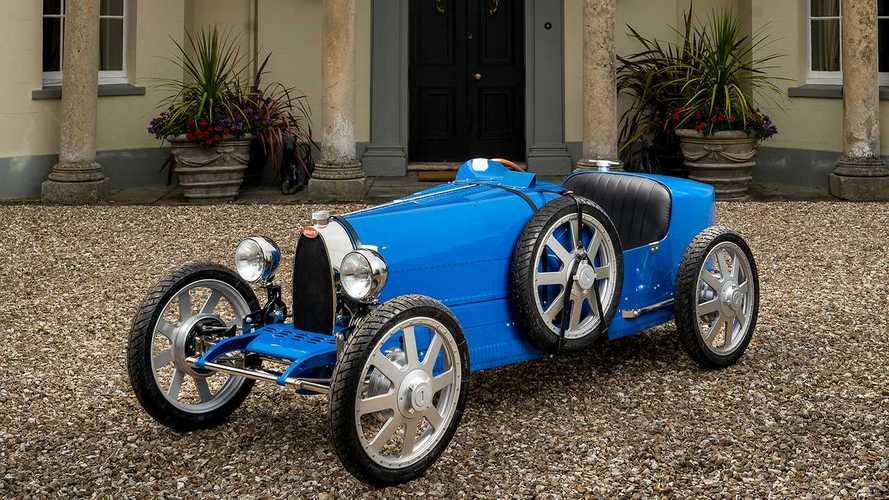 Bugatti выпустила электрокар за 2,1 миллиона рублей