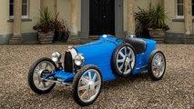 Bugatti Baby II: 2,80 Meter langes Kinder-Auto mit Elektroantrieb