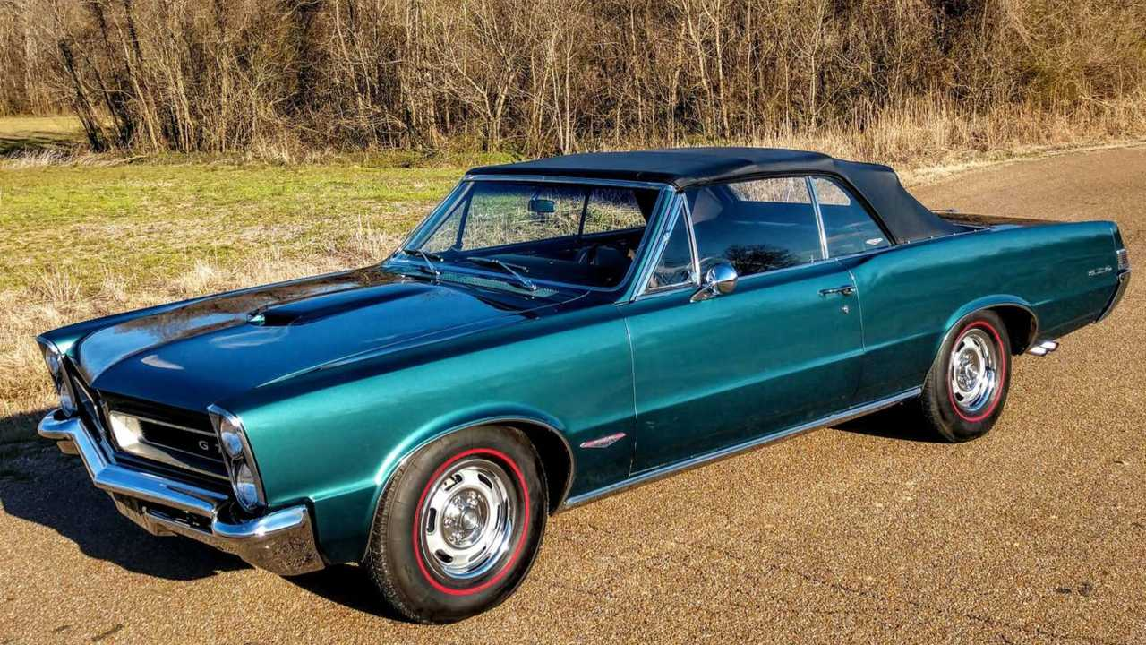 Picture Yourself Cruising In A 1965 Pontiac GTO Convertible