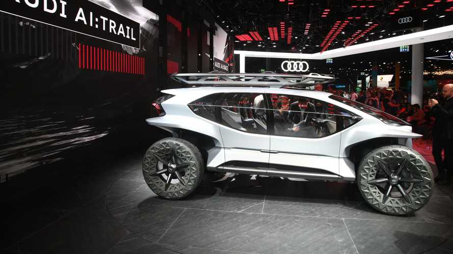 Audi AI:TRAIL Quattro Off-Road EV In Frankfurt: Photos/Videos