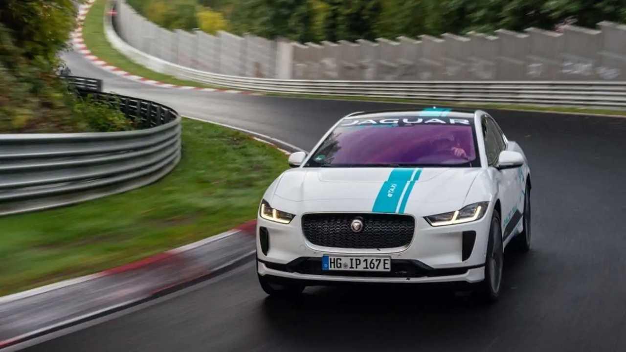 Jaguar I-Pace Ring Taxi