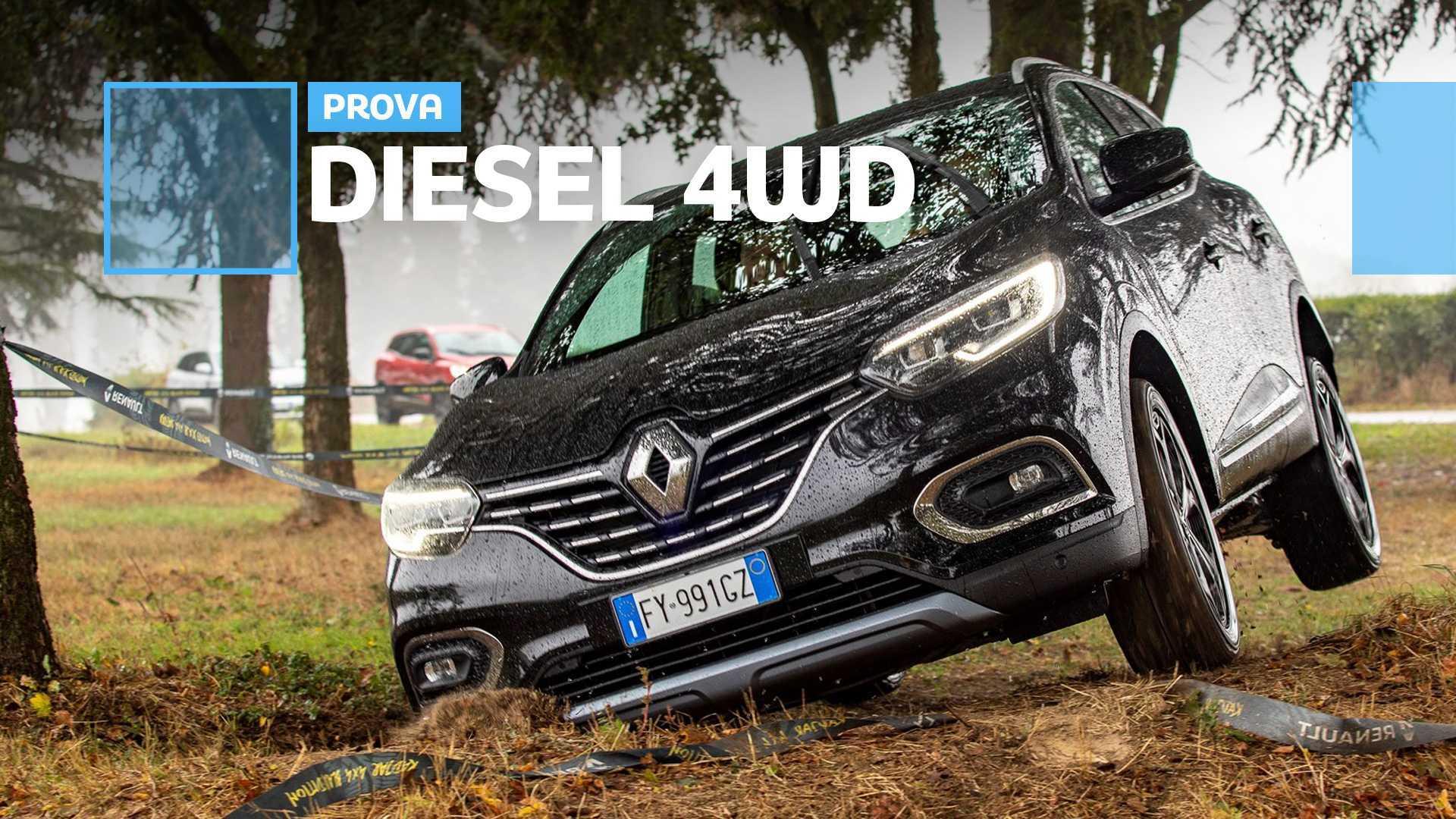 Renault Kadjar, il SUV compatto è anche 4x4