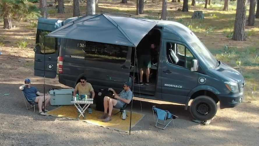 Moonshade Gives Camper Owners A Clever New Awning Option