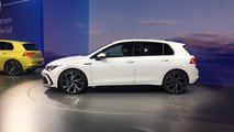 VW Golf VIII (2019) live photos