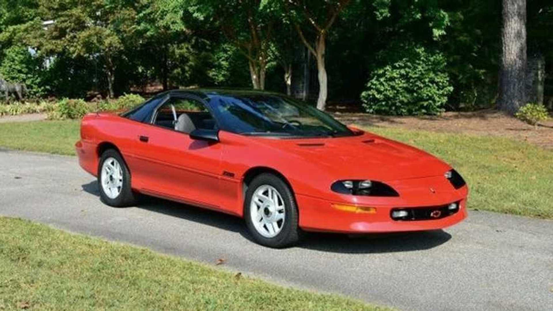 "[""Drive Or Show This 1994 Chevrolet Camaro Z28 Survivor""]"