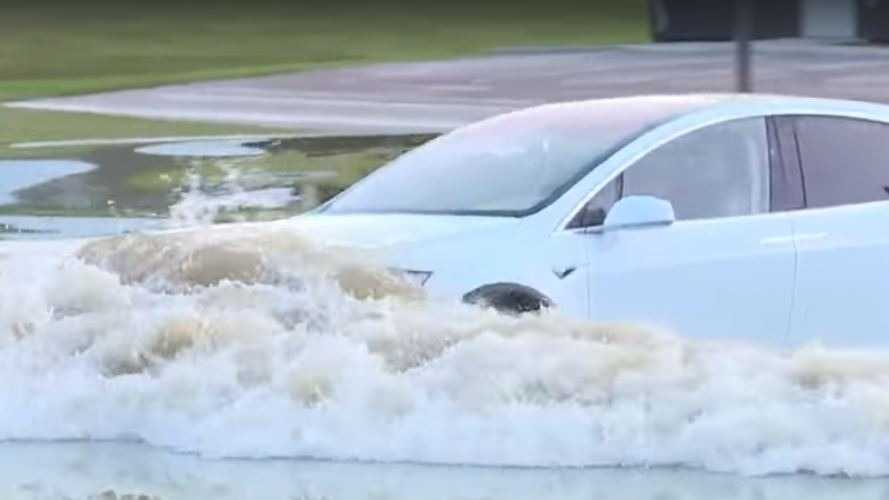Hydrolock? Not In This Boat-Like Tesla Model X