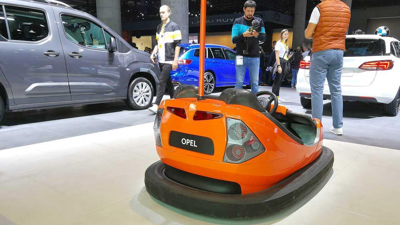 IAA 2019 - Elektroautos: Autoscooter