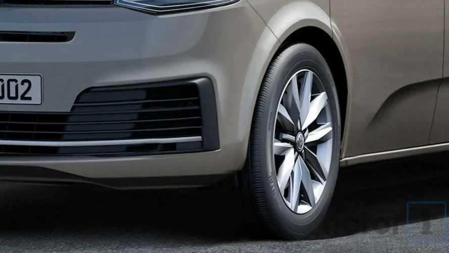 Volkswagen T7, il rendering