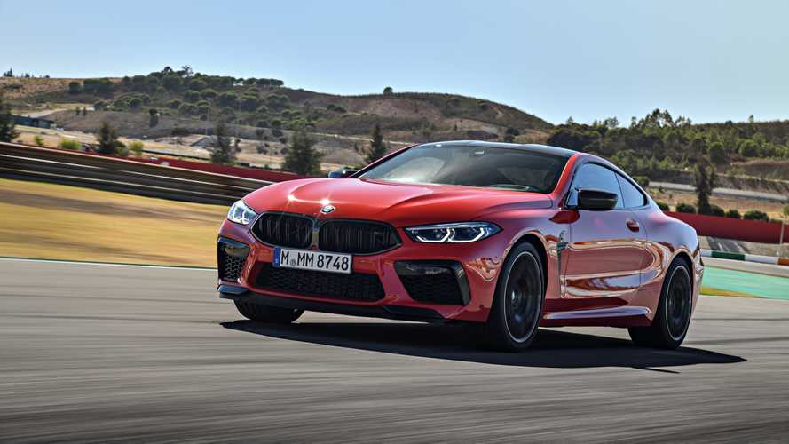 Test BMW M8 2019 Competition