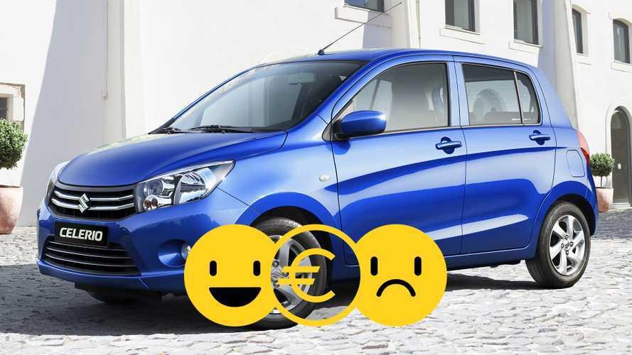 Promozione Suzuki Celerio, perché conviene e perché no