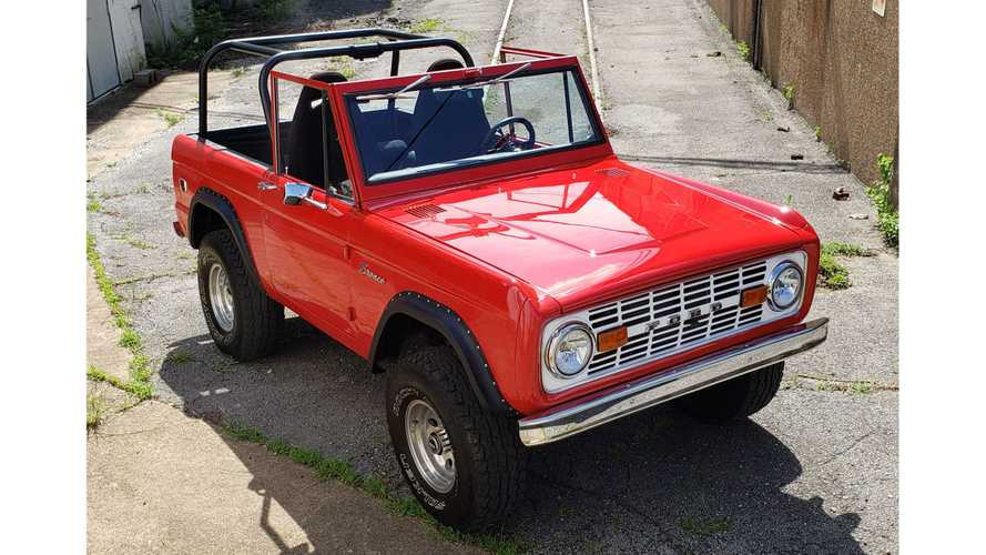 Conquer Any Terrain In This 1968 Ford Bronco