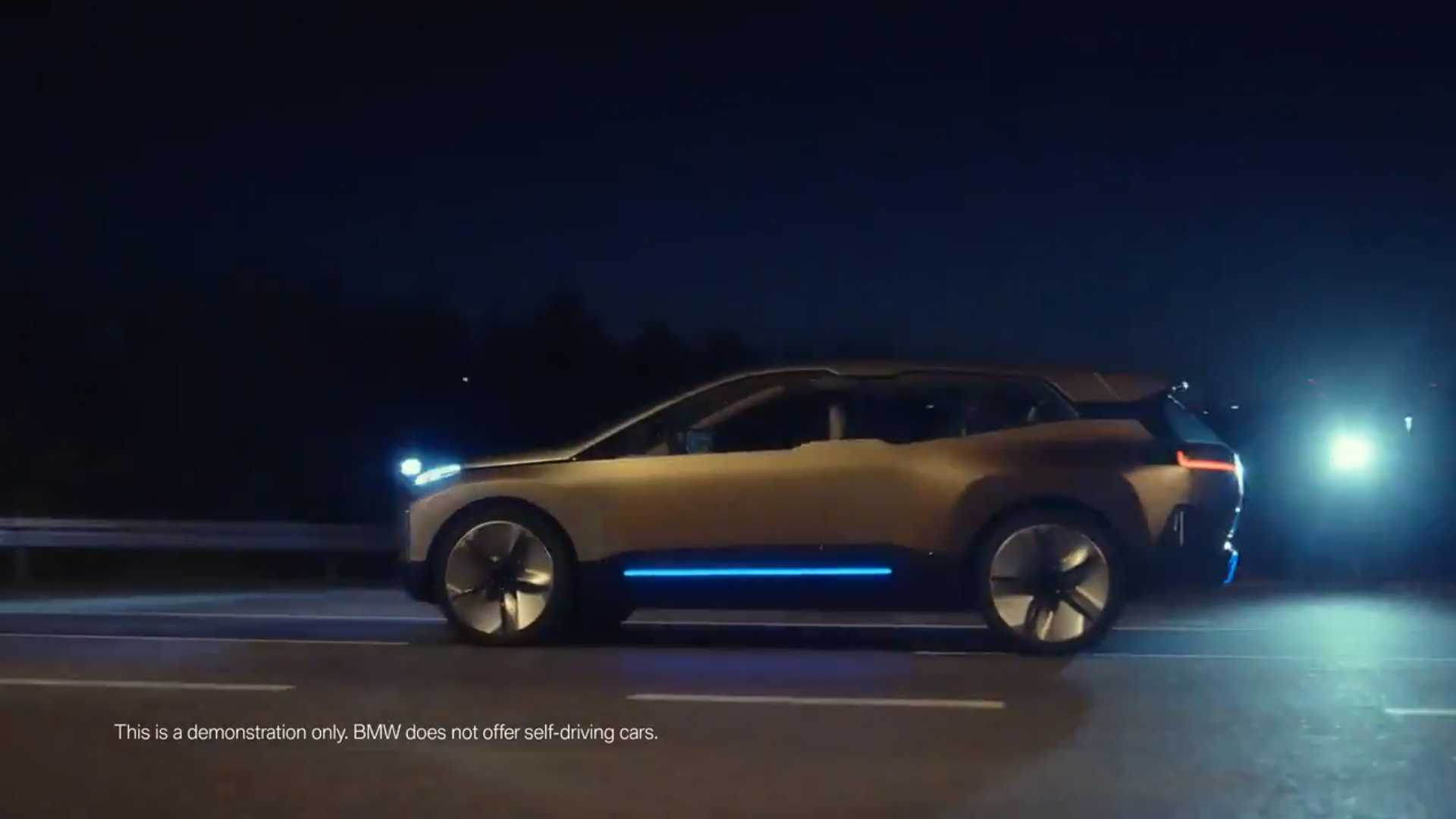 Racy BMW Video Suggests Sex Is 'New Moments Of Joy' In Autonomous Car
