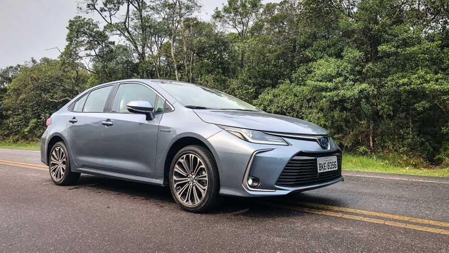 Novo Toyota Corolla híbrido começa ser vendido na Argentina
