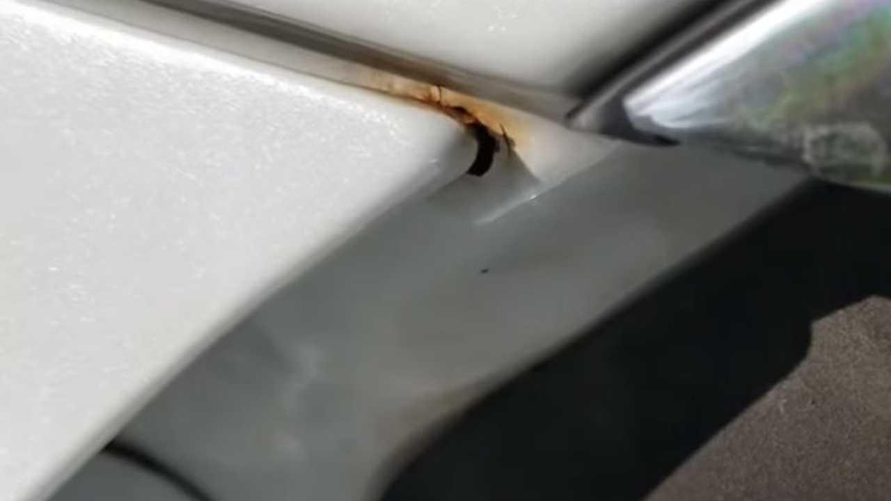 Tesla Model 3 Rust