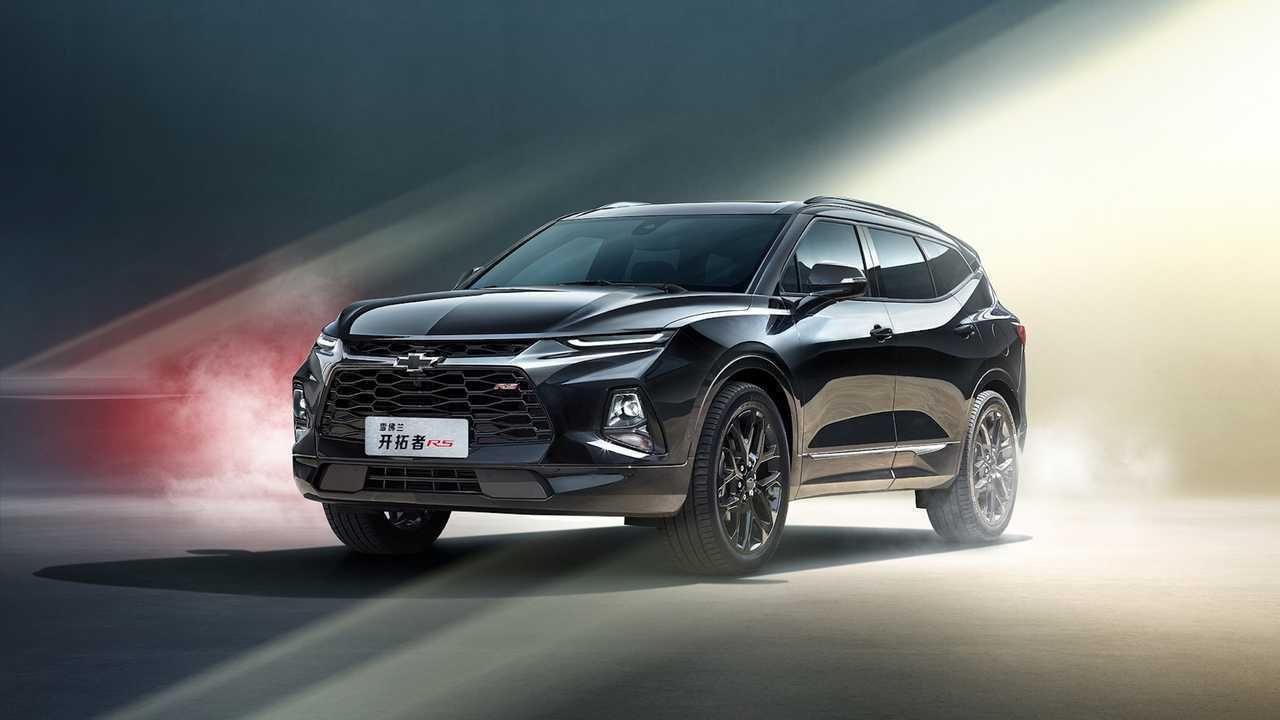 Seven-Seat Chevrolet Blazer