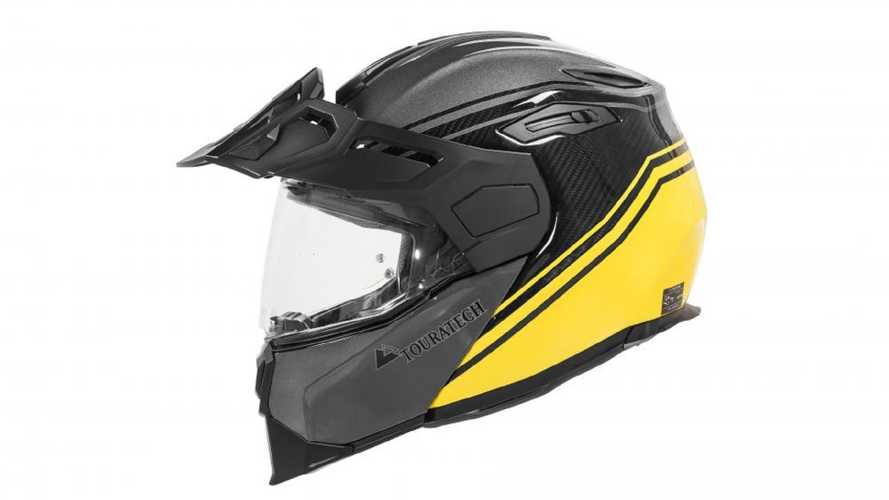 New Touratech Aventuro Traveller Helmet Offers Peak Airflow
