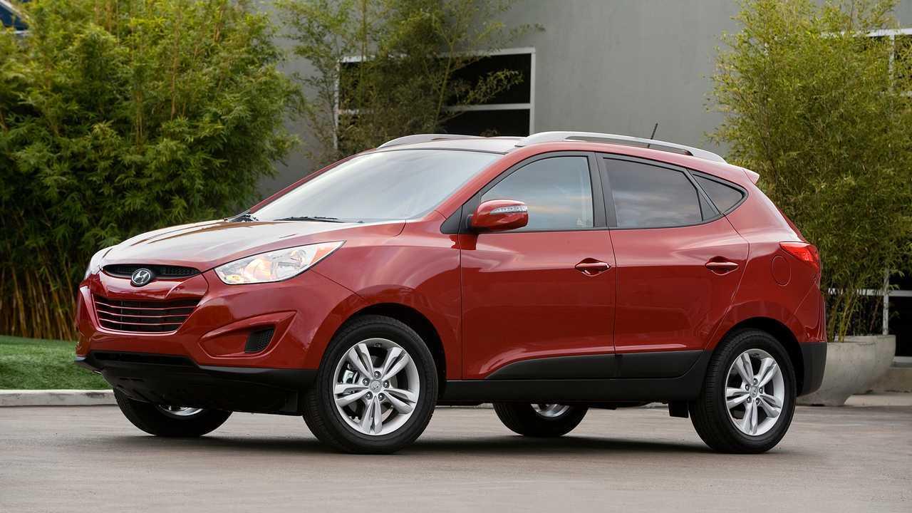 6. 2010-2014 Hyundai Tucson