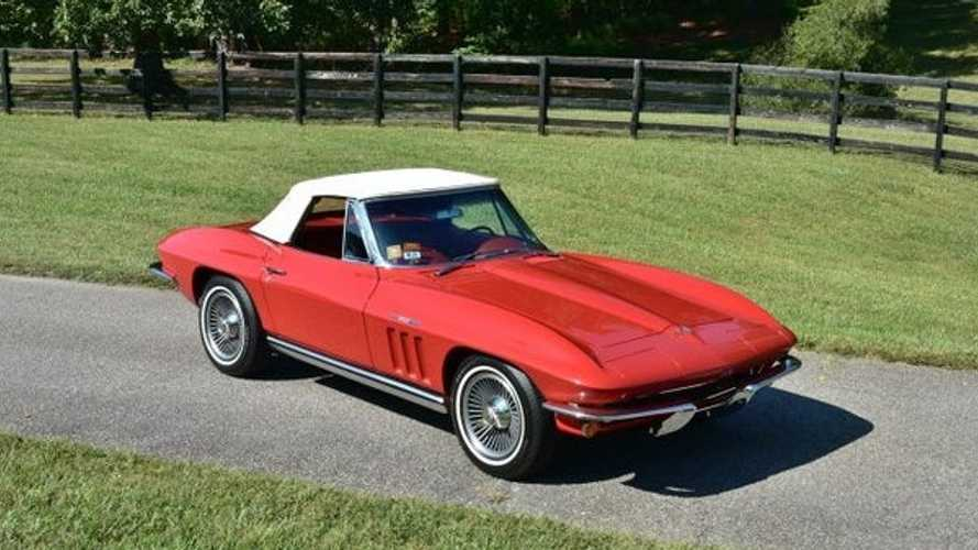 Rare 1965 Chevrolet Corvette Fuelie Up For Grabs