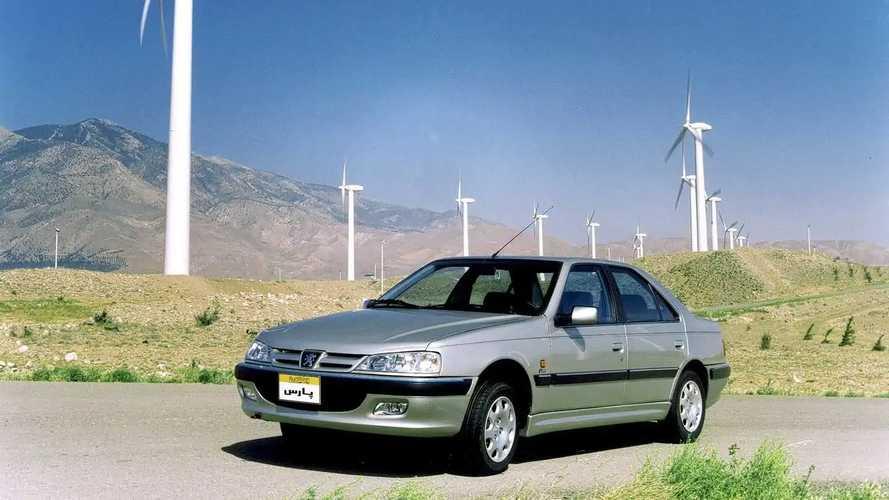 Peugeot Pars (405) de Irán