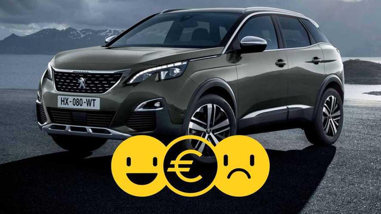 Peugeot 3008 à 229 €/mois