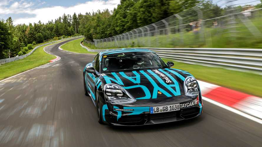 Porsche Taycan Sets New Record (For Four-Door EVs) At Nürburgring