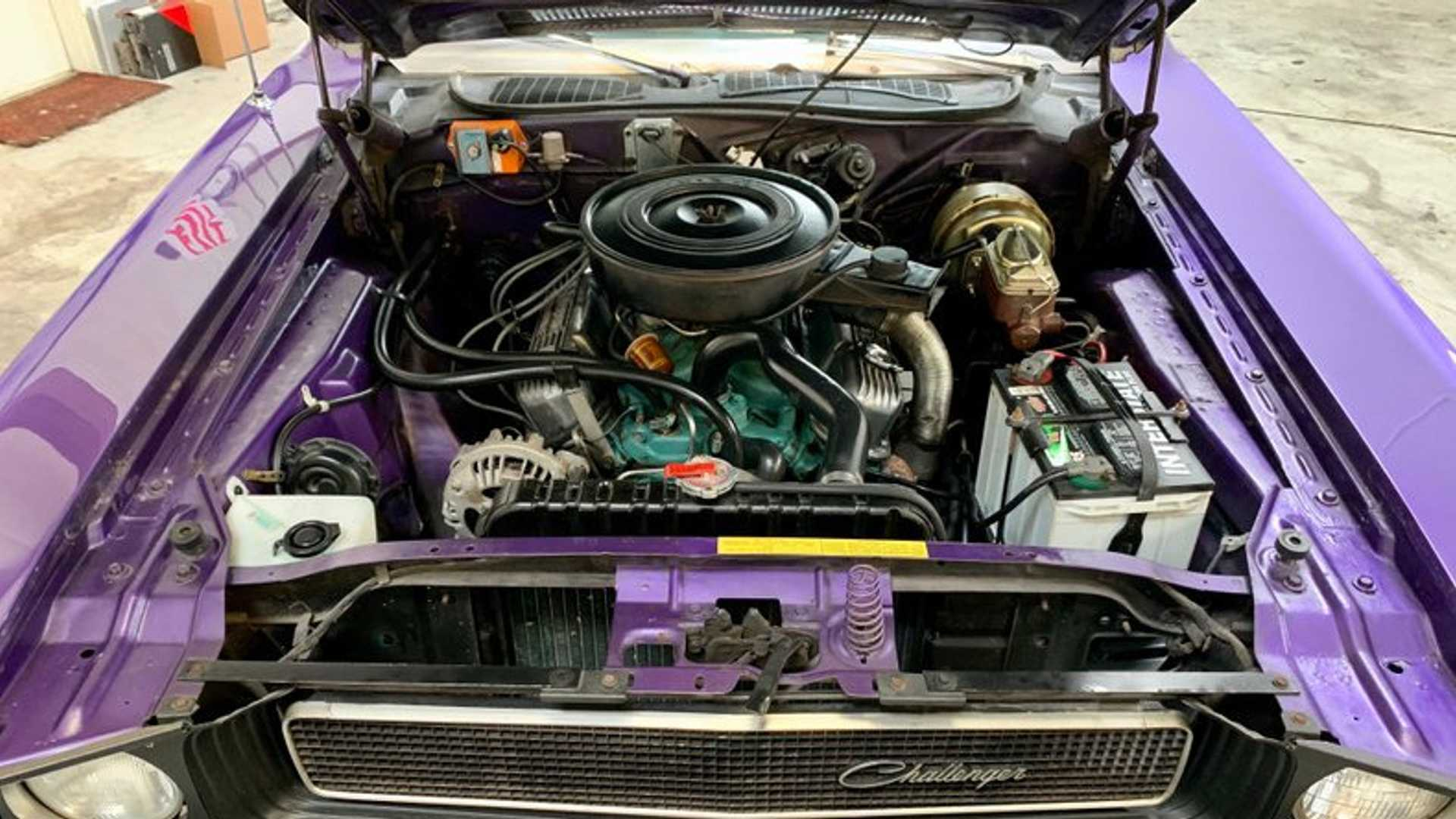 """[""""Cheer For The Plum Crazy 1970 Dodge Challenger Convertible""""]"""