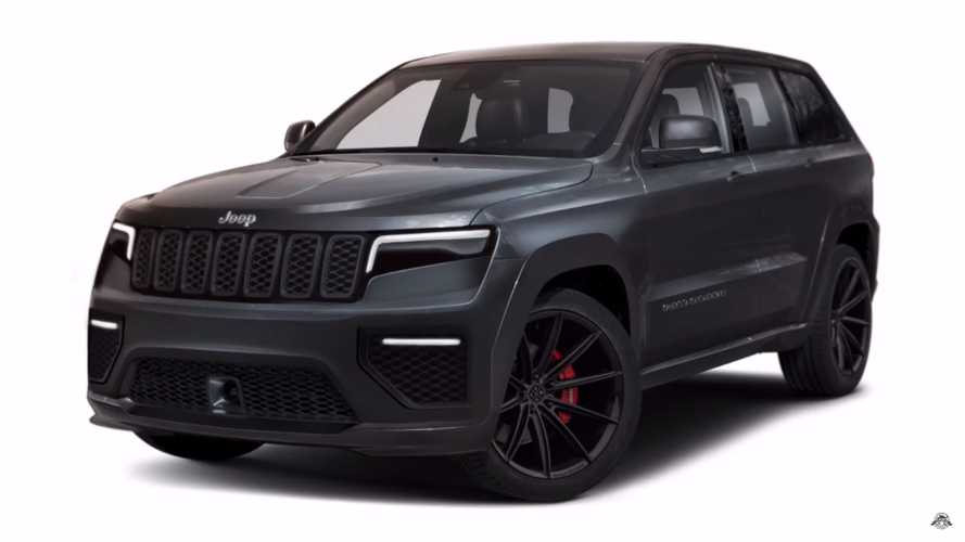 2021 Jeep Grand Cherokee Rendering Proposes Subtle Evolution