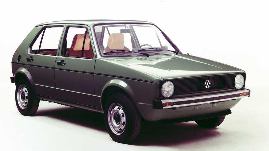 VW Golf im Rückblick: Der Golf I (1974 - 1983)