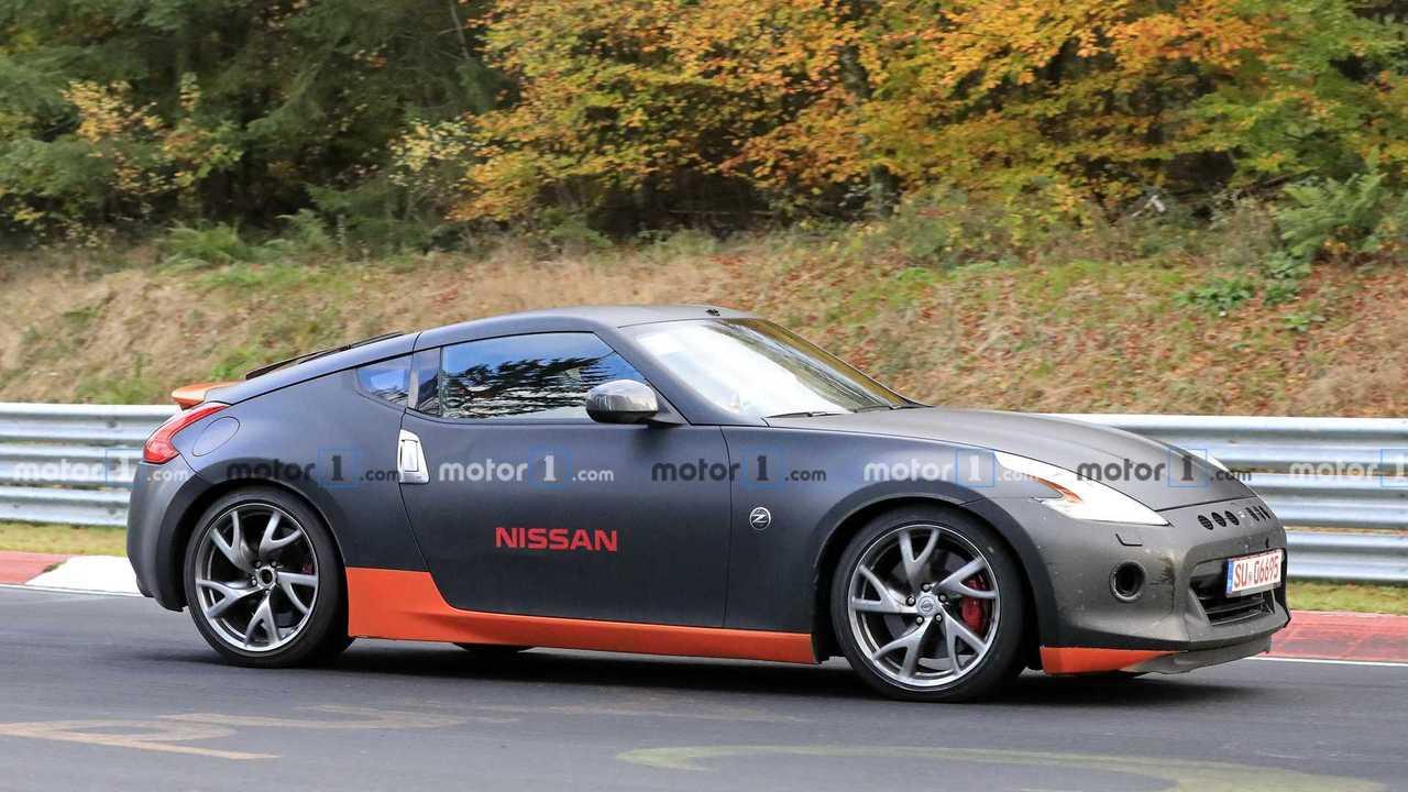 Nissan 370Z kémfotók