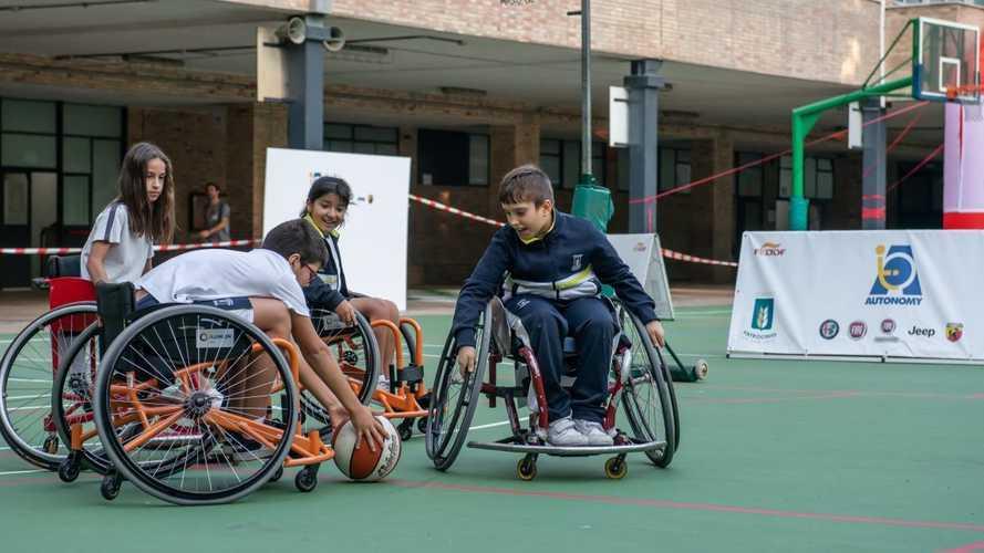 El programa Autonomy de FCA acerca el deporte adaptado a los jóvenes