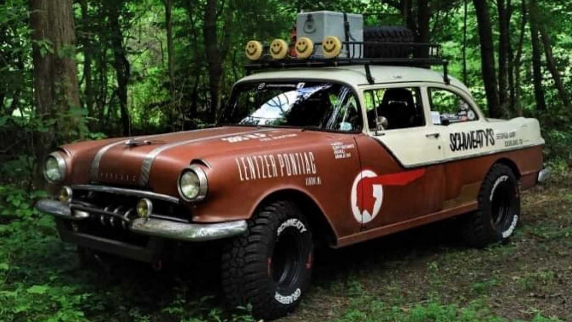 Check Out This 1955 Pontiac Chieftain Off Road Build Motorious